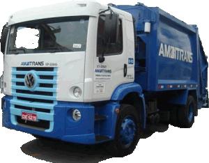 Caminhão Coletor e Compactador de Resíduos