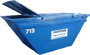 Container com Tampa Ambitrans Transportes