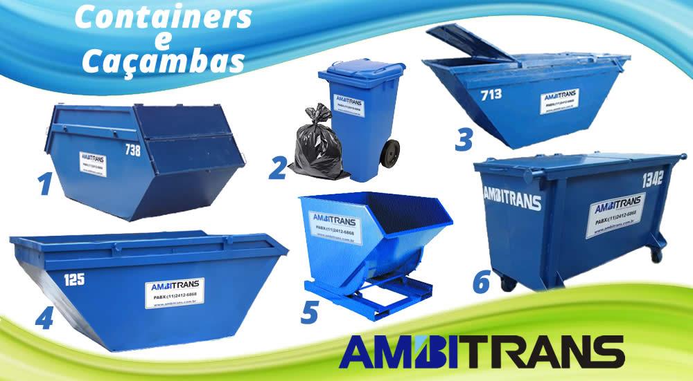 Containers para residuos