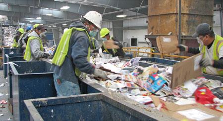 Destinação final dos resíduos do comércio